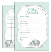 aa45bsm-mint-grey-elephant-boy-baby-shower-silver-digital-file.jpg