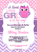 Owl Invitations For Baby Shower Images Invitation Templates Free