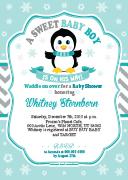 oz39bs-penguin-boy-invitation-for-shower-aqua-grey-turquoise-winter.jpg